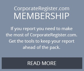 NEW! CorporateRegister.com Membership